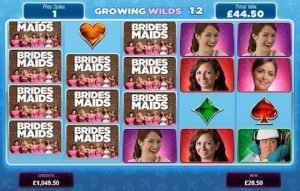 Bridesmaid Slot- Bonus Features