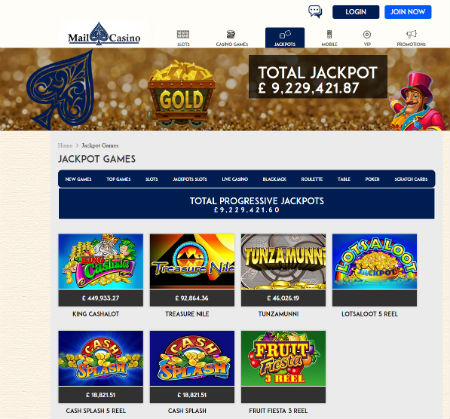 Mail Casino Amazing 20 Free Spins