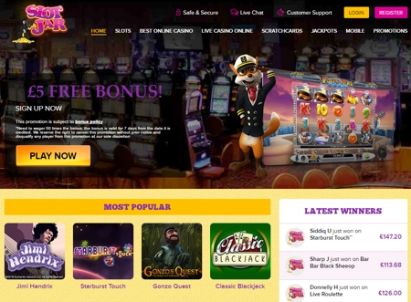 Cash Deposits Casino