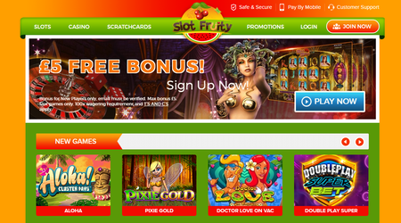 Slot Fruity Games