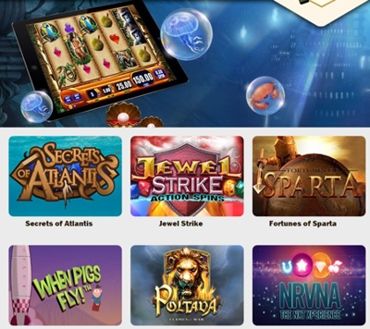 Wide Range of Slot Games