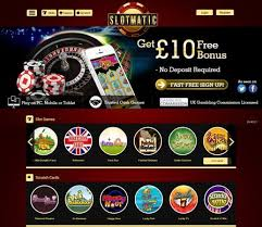 Slotmatic Casino Bonuses