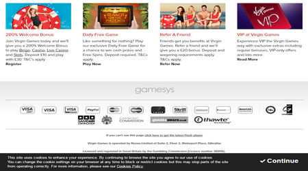 Promotional Offers And Bonuses At Virgin Casino